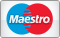 We accept payments with Maestro cards